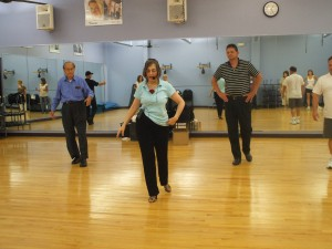Now is the time for self-improvement projects. Learn a new activity. Here, Instructor Diana teaches Ballroom Dancing.