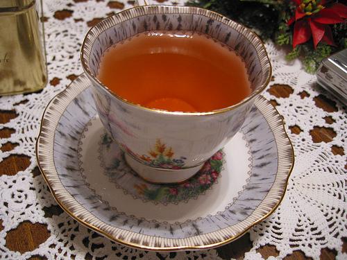 herbal tea, image