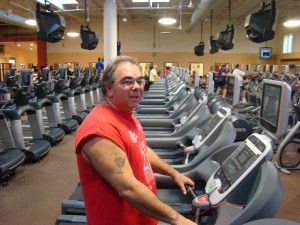 Al puts his heart and soul into fitness.