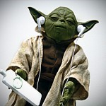 There are comfortable earbuds for everyone, even Yoda.