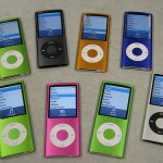 Apple's iPod is available in a rainbow of colors and price points.