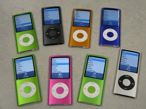 Get Coordinated! Apple's iPod is available in a rainbow of colors.