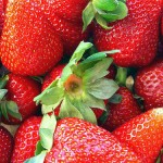 strawberries, pic