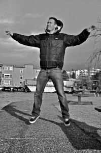 Fresh air jumping jacks—A double burst of energy.