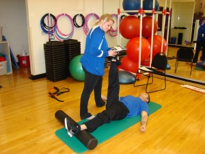 Personal Trainer Ashley Lion helps RJ move beyond his setback. Ashley will keep his over-zealous nature in check.