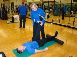 Fitness Managers need personal trainers, too.
