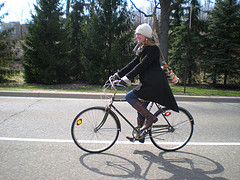 spring bike ride, pic
