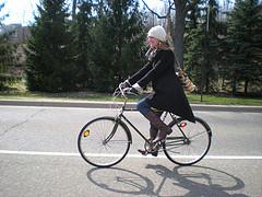 spring bike ride, pic