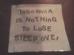 insomnia sign, pic