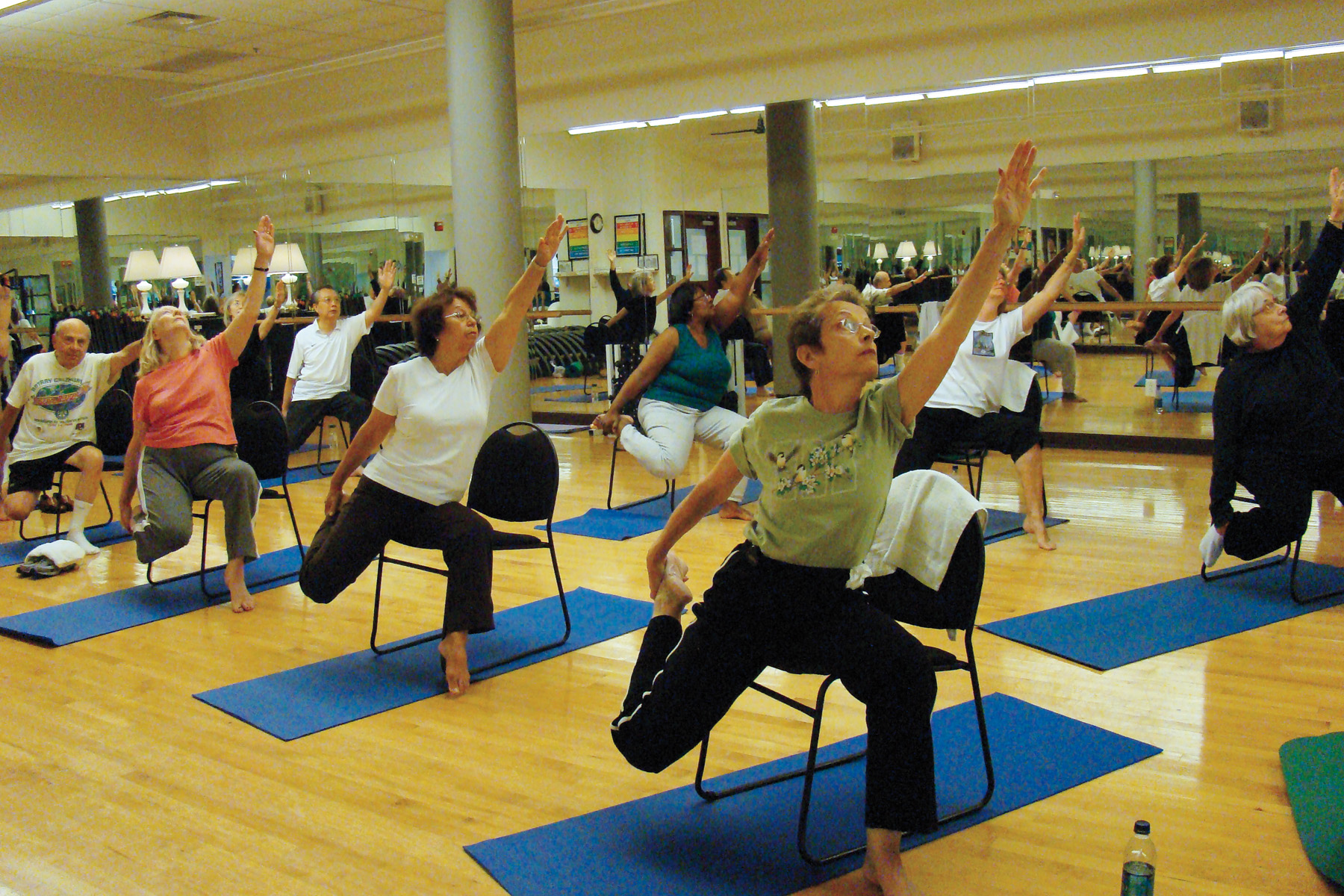 Arthritis prevention for Furniture yoga