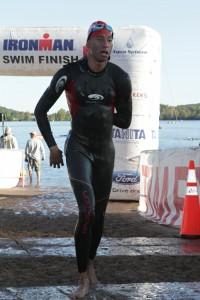 Dark waters behind him, John races onward.