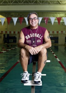 Al Santaniello rises above heart issues.