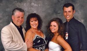 Tom & Gina Ruggiero with children Allie & Evan