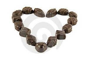 Dark chocolate loves your heart.
