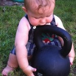 Never too young to start a fitness program!