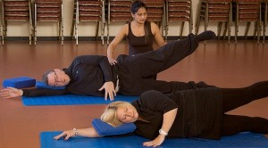 Under an instructor's watchful guidance, you are assured the workout you need.