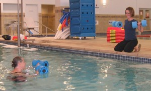 Learn how to exercise in the gentleness of the pool.