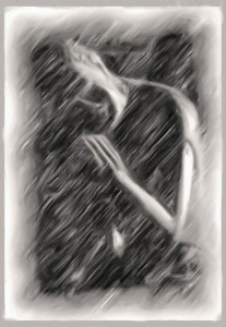 rain meditation, pic