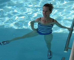 Combine soothing and effective with an aquatic workout.