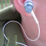 Earbuds for portable music players.