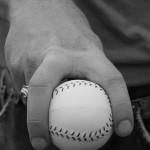 baseball grip, pic