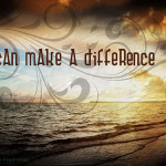 I can make a difference, pic