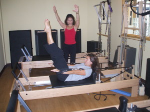 Pilates reformer gets your core summer-ready.