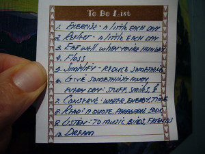 To-do list, pic