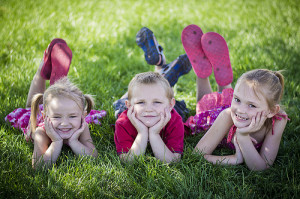 Happy, healthy children, pic