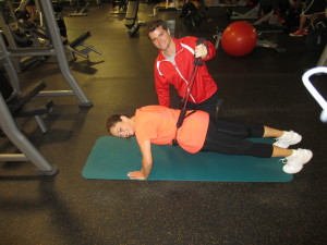 Sharon & Trainer John.