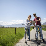 youngcouple, cycling adventure, pic