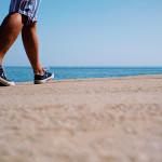 Beach walk, pic