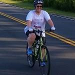 Lisa tackles triathlon.
