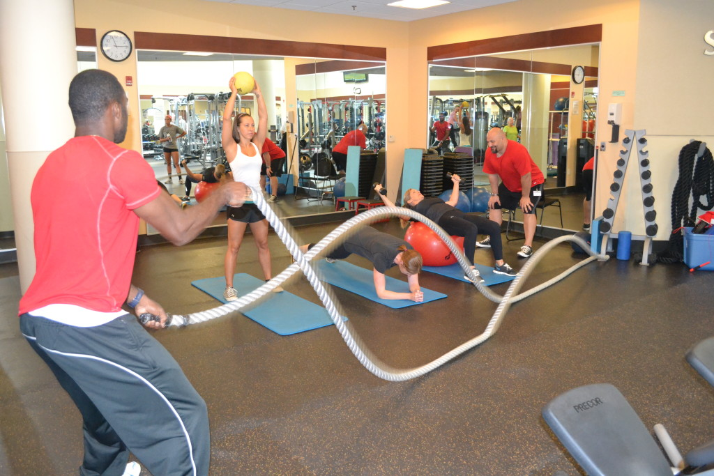 Small group training gains more popularity.