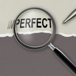 changing the word imperfect for perfect