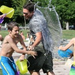 water fight, pic