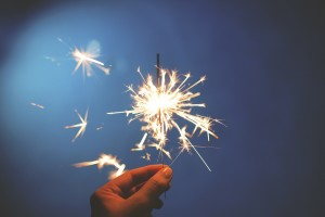 Light a spark.