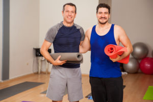 "Enjoy some real ""face time."" Work out with a friend or family member."
